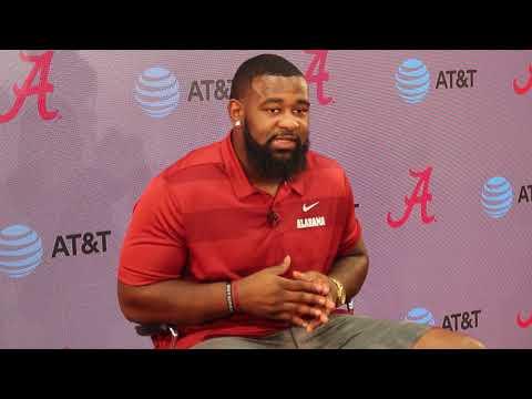 Alabama DL Isaiah Buggs - Louisiana game week