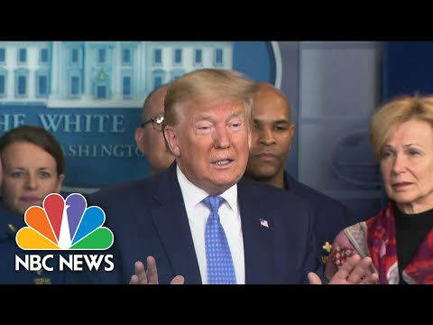 New Details On Trump Administration's Plan For Coronavirus Testing | NBC Nightly News