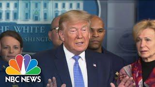 New Details On Trump Administration's Plan For Coronavirus Testing   NBC Nightly News