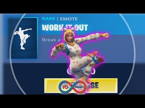 Fortnite Work It Out [10 Hours]
