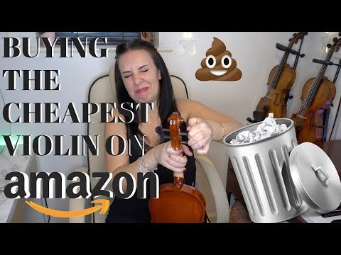 Buying the CHEAPEST violin on AMAZON for $30 - is it any good??