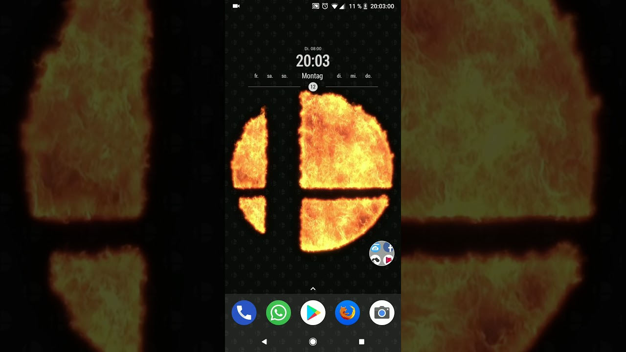 Android Live Wallpaper Super Smash Bros 18 9 16 9 Youtube