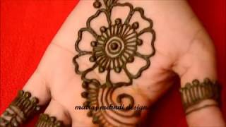 Easy Arabic Mehndi Henna Designs For Hands|Simple Arabic Mehndi Designs Step by Step