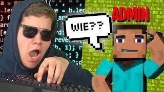 Ich gebe mich als Profi Hacker in Minecraft aus (Admin getrollt)