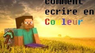 Comment écrire en couleur sur Minecraft TOUTES versions (serveurs + solo)