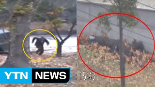 UNC release video of North Korean soldier's defection to South Korea / YTN