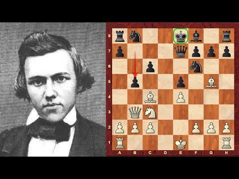 Iconic Chess Game: The Amazing Classic Immortal Morphy Opera Game! - Paul Morphy vs the Allies