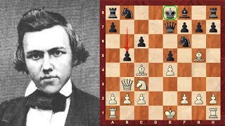 The Amazing Classic Immortal Morphy Opera Game! - Paul Morphy vs the Allies - Brilliancy