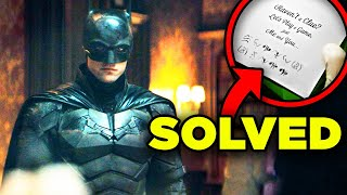 THE BATMAN Trailer Breakdown! Riddler Clue SOLVED & Details You Missed!