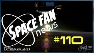 SDO Studies Meriodal Plasma Flow; LADEE Takes Us Back to the Moon: Space Fan News #110