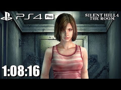 Silent Hill 4 PS4 Pro Speedrun 1:08:16 No Saves Single Segment HD 1080p