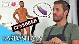 Download Video Scott Disick & Kris Jenner Sketch A Nude Model | Season 16 | Keeping Up With The Kardashians MP3 3GP MP4
