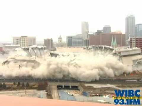 RCA Dome Implosion Indianapolis