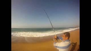 Pesca da Corvina na Praia Azul (36 KG)- GoPro HD