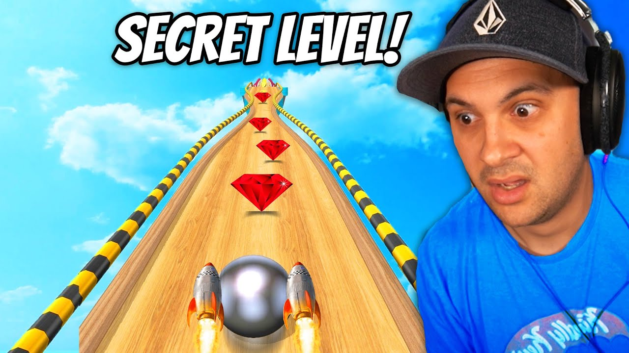 Unlocking SECRET Levels In Going Balls