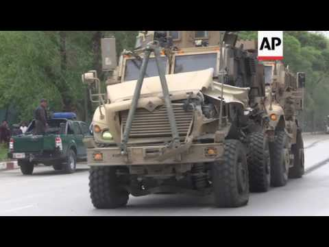 Suicide attack on convoy in Kabul
