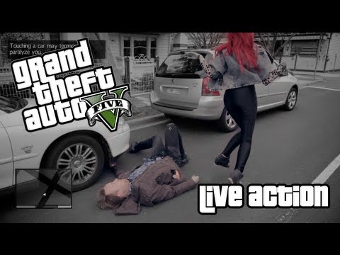 Grand Theft Auto 5 parody takes you to the barbershop