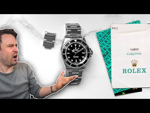 I Bought A Rolex Submariner Off EBay - Condition, Time Keeping And Cleaning