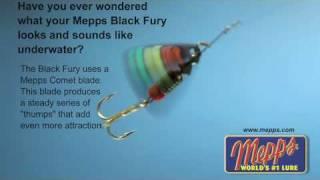 Mepps Black Fury video