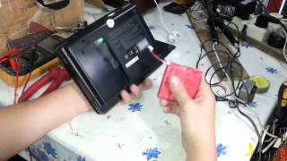 Ko'chma DVD player BRAVIS batareya Zaxira ta'mirlash