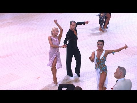 Professional Latin - Blackpool Dance Festival 2016