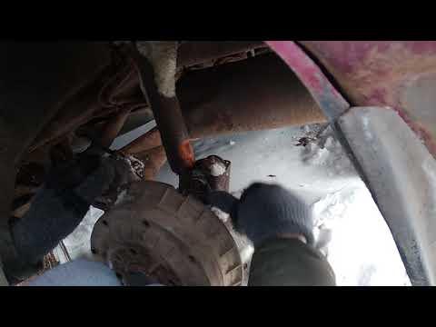Замена задних стоек ВАЗ 2110 2111 2112 Калина Гранта Приора 2109 и 2108 21099 а также 2113 2114 2115