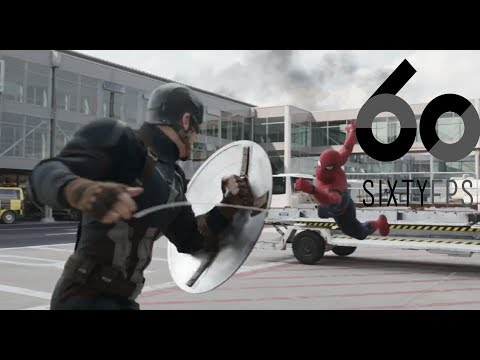 [60FPS] [IMAX] Captain America Civil War Airport Battle Clip 2 60FPS HFR HD