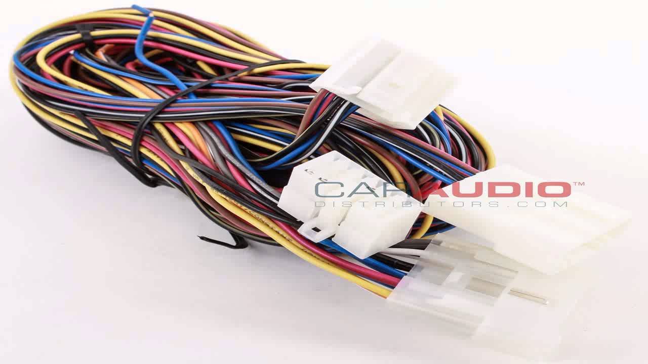 metra 70 8215 wiring harness for 2005 2006 toyota avalon [ 1280 x 720 Pixel ]