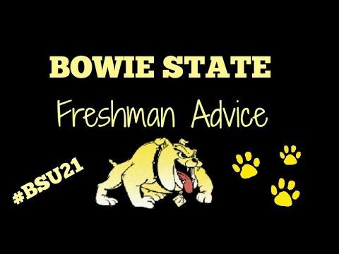 Freshman Advice| Bowie State| BSU21