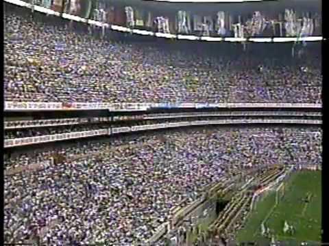 Inaugración del mundial México 86 Estadio Azteca video de Duglin
