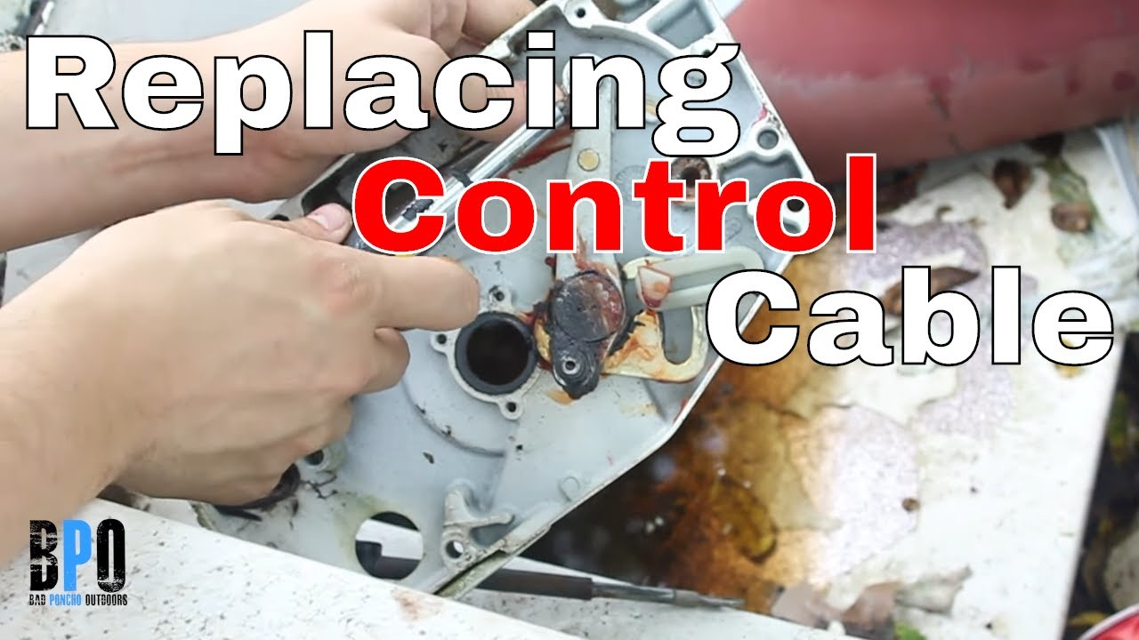 Yamaha Outboard Control Cable Replacement : How to replace control cables in a remote throttle