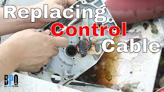 How To Replace Control  Cables in a Remote Control Throttle Box - Project Gemini