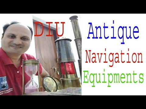 Antique Navigation Equipments  Of Ship/ Merchant Navy Navigation /marine Equipments By Hemal Rajput
