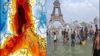 OLA DE CALOR CON ALTAS TEMPERATURAS AZOTA EUROPA  - 2020