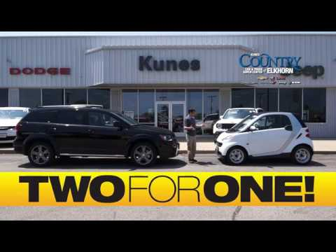 2 CARS FOR THE PRICE OF 1 At Kunes Country Of Elkhorn Tired Of Only