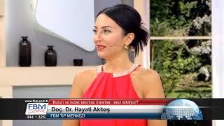 Doç.Dr.Hayati Akbaş-Burun ve kulak takıntısı insanları nasıl etkiliyor?-Show Tv