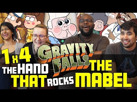 Gravity Falls - 1x4 The Hand That Rocks the Mabel - Group Reaction