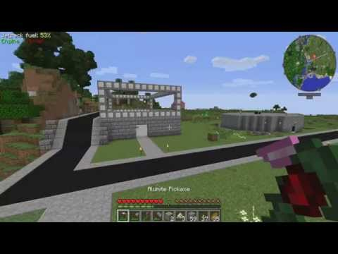Minecraftopolis | FTB Infinity | #2 | Excavating Stations