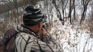 Охота на кабана в Приморском крае  Hunt on boar in Primorskiy kray, Russia(2012.12.15 Music - Epic Music- For the Win Link - https://youtu.be/XdU469cemHo., 2014-01-28T13:45:50.000Z)