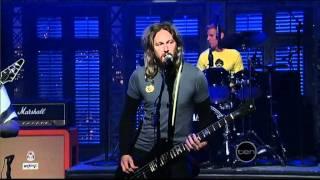 Mastodon - Curl Of The Burl (Live on Letterman)