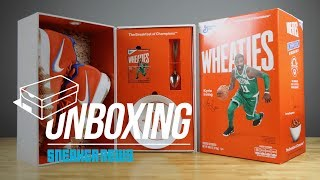 Unboxing The Wheaties Nike Kyrie 4 Package