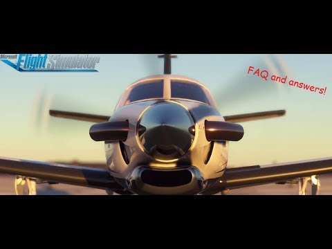 Microsoft Flight sim 2020-Review and answered questions.