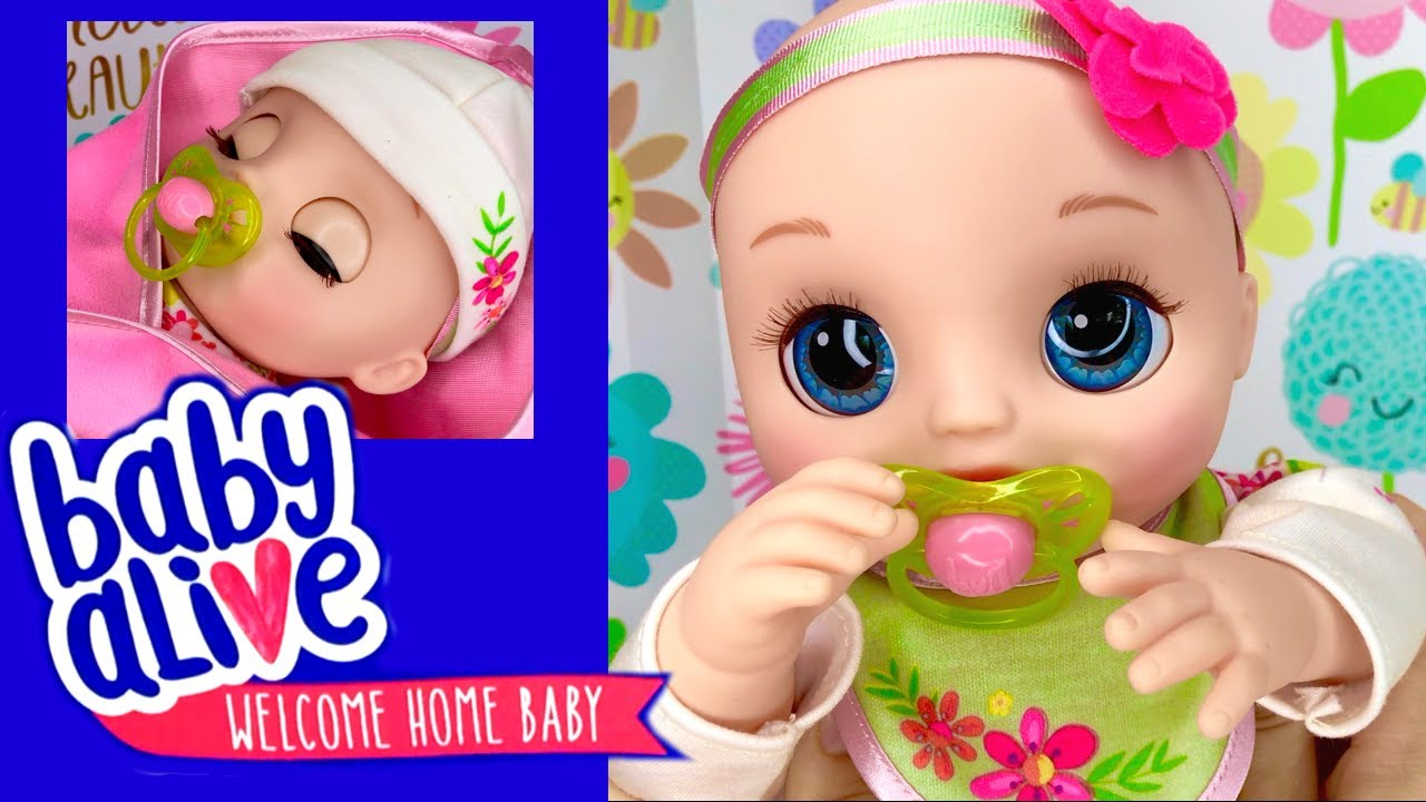 65fd8e100 💖Real As Can Be Baby Alive Blonde Doll! 🌸Hasbro Sent Us A New Baby ...