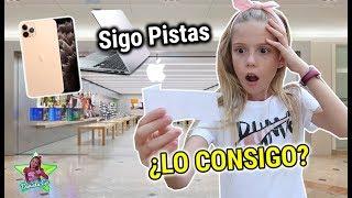 BUSCANDO EL IPHONE 11 PRO! SIGO PISTAS PARA ENCONTRAR NUEVO IPHONE DANIELA GO