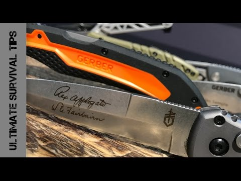 "SHOT Show 2017 - 5 NEW Gerber Knives / Multi-Tools - ""MADE in USA"""