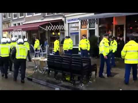 Football Hooligans Man Utd Fight Ajax