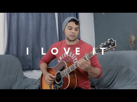 I Love It - Kanye West & Lil Pump | Fingerstyle Guitar Cover (TAB)