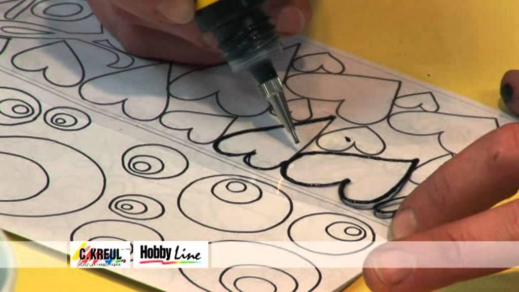 Hobby Line Glas Design New Art : Hobby line glas design new art tassendesign set youtube