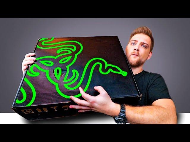 Большая Коробка Razer! Что внутри?