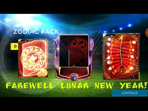 FAREWELL LUNAR NEW YEAR EVENT! 4500 FU POINTS ZODIAC PACK OPENING AND MORE IN FIFA MOBILE 19